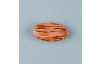 Ovalus medinis karoliukas 30x15mm
