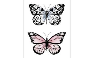 "Akriliniai antspaudukai ""Butterflies 2"""