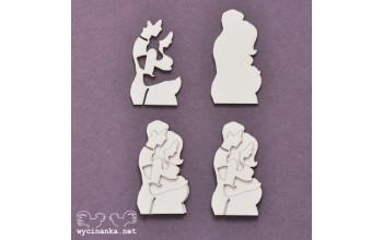 """Kartoninė formelė """"Šeimos albumas: tėvai, 3D"""""""