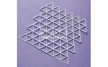 "Plastikinis trafaretas ""Triangles"""