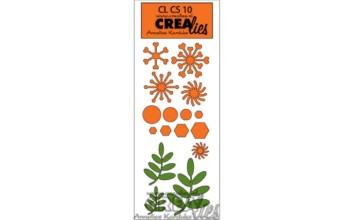 "Kirtimo formelė ""Crealies: Creative Shapes 10"", 16vnt."