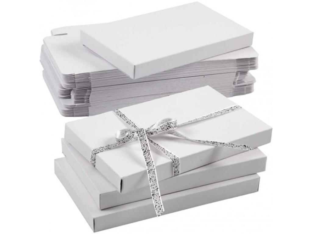 Sulankstoma popierinė dėžutė, 20x12x2cm, 1vnt.