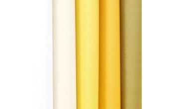 "Tissue šilko popieriaus rinkinys ""Assorti Colours Yellow"", 50vnt."