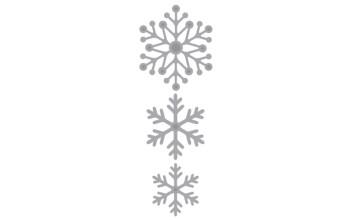 """Kirtimo ir reljefo formelė """"Snow Crystals"""""""