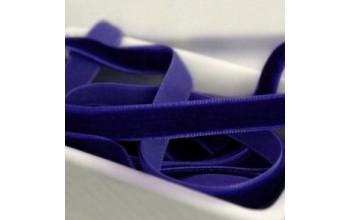 """Aksominė juostelė """"Dark Blue 1cm"""", 1m"""