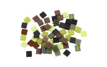 """Mozaika 5x5x2mm """" Green Harmony"""""""
