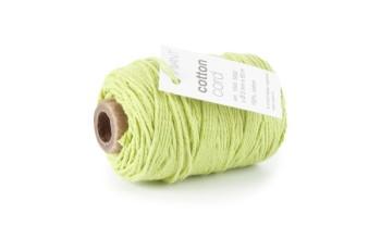 """Medvilninė virvelė """"Cotton fine spring green"""", 50m"""
