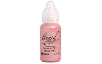 """3D dažai perliukams sukurti """"Liquid Pearls Petal Pink"""""""