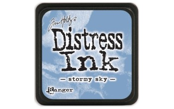 "Rašalas ""Mini Distress Ink: Stormy Sky"""