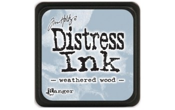 "Rašalas ""Mini Distress Ink: Weathered Wood"""