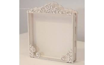 "Kartoninis rėmelis ""Shadow Box"", 15x15cm"