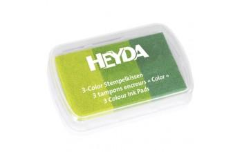 """Rašalas """"3 Colour: Green"""""""