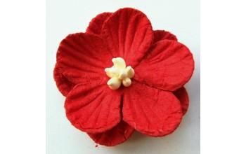 """Popierinės gėlės """"Red"""", 6vnt."""