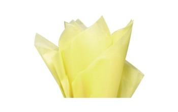 """Tissue šilko popierius """"Šviesiai geltona / Light yellow F072"""", 50vnt."""