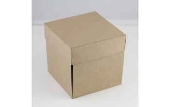 "Išlankstoma dėžutė dekoravimui ""Kraft"", 1vnt."