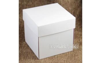 """Išlankstoma dėžutė dekoravimui """"White"""", 1vnt."""