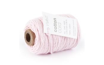 """Medvilninė virvelė """"Cotton fine rose"""", 50m"""