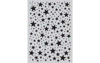 """Plastikinis trafaretas """"Stars"""""""