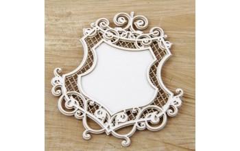 """Kartoninė formelė """"Royal: emblema"""""""