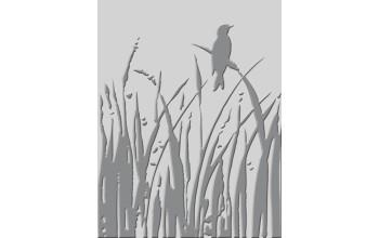 """Popierius su įspaustu reljefu """"Bird Call"""", įvairių spalvų"""