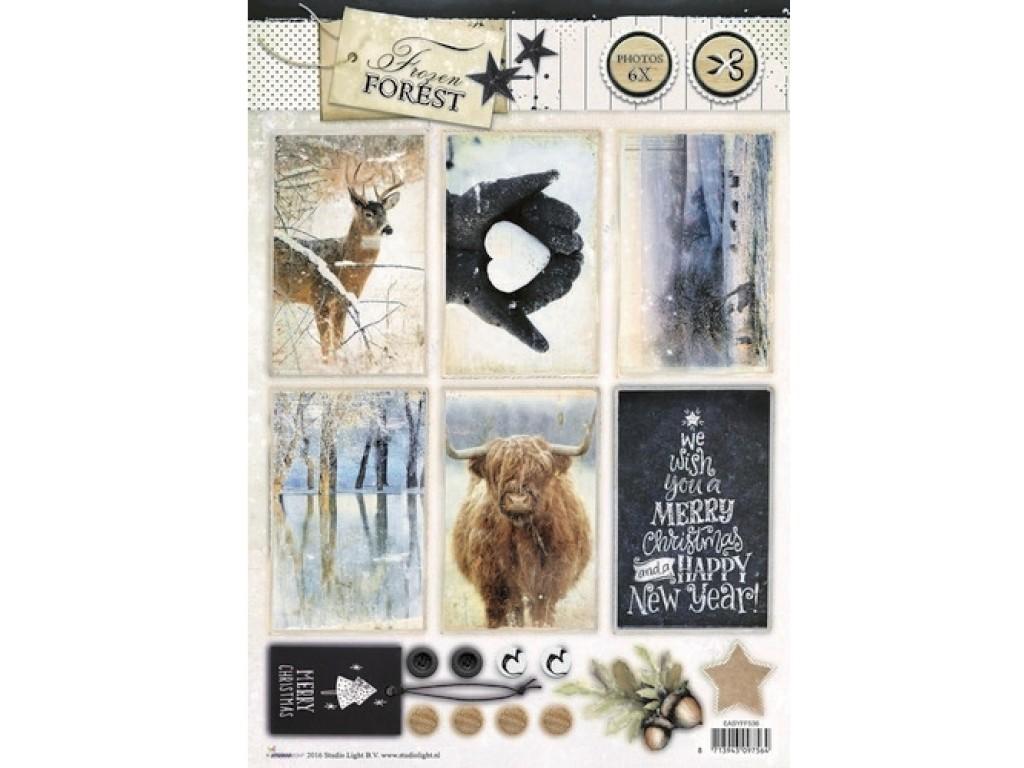 "Lapas su paveikslėliais ""Studio Light: Frozen Forest 536"""