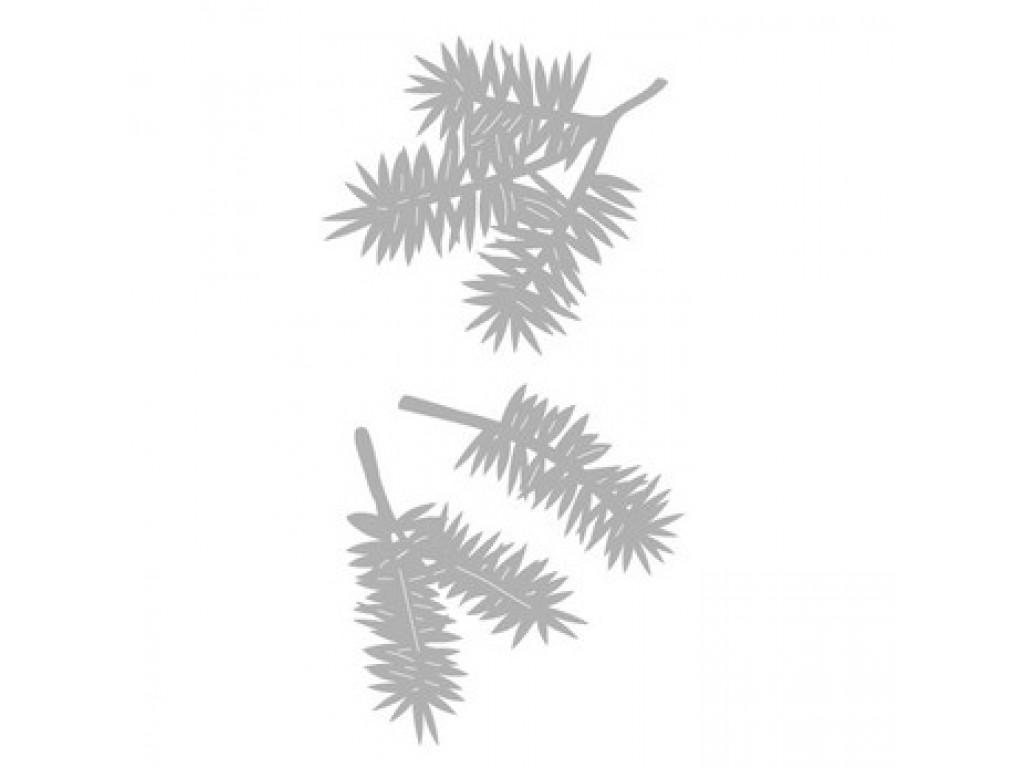 """Kirtimo ir reljefo formelė """"Pine Branches"""", 3vnt."""