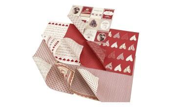 """Popieriaus rinkinys """"Vivi Gade Design: Merry Christmas"""", 7 lapai"""