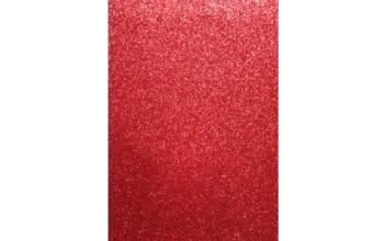 "Minkštas crepla popierius ""EVA foam Glitter Red 2mm"", 1vnt."