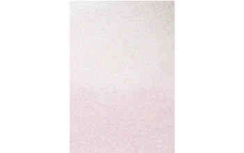 "Minkštas crepla popierius ""EVA foam Glitter White 2mm"", 1vnt."