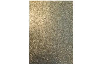 "Minkštas crepla popierius ""EVA foam Glitter Gold 2mm"", 1vnt."