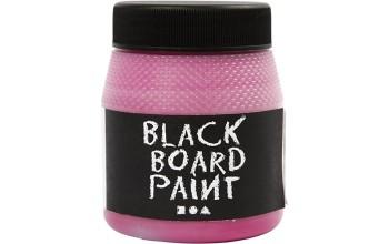 """Dažai kreidinei lentai """"Chalkboard Blackboard Pink / rožinė"""", 250ml"""