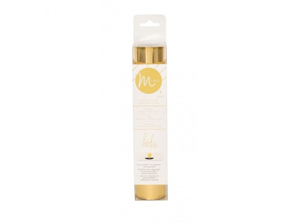 "Folija ""Minc reactive foil pack: Gold"", 1,5m"