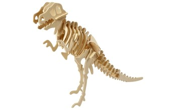 """3D medinė dėlionė """"Dinozauras"""""""