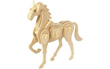 """3D medinė dėlionė """"Žirgas"""""""