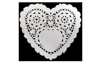 "Popierinės servetėlės ""Paper frames Heart"", 12vnt."