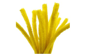 Lanksti pūkuota lazdelė, geltona