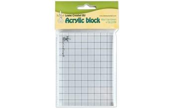 Akrilinis pagrindas antspaudukams tvirtinti, 8,5x11,5cm