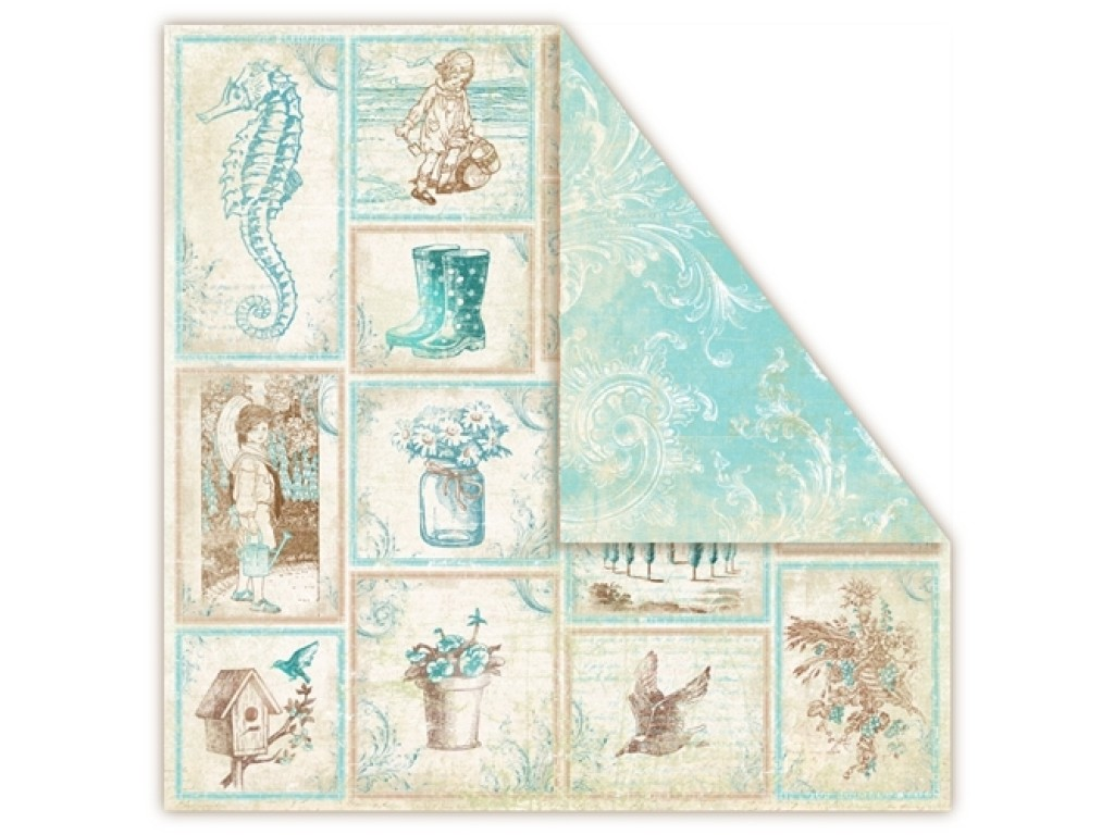 """Popierius """"Provence Aquarius: Souvenirs"""""""