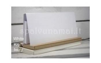 """Sulankstoma popierinė dėžutė šokoladui """"Ivory"""", 9x19cm, 1vnt."""