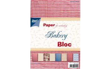 """Popieriaus rinkinys """"Bakery"""" 15x21cm, 32 lapai"""