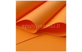 "EVA guma gėlėms ""Foamiran Orange 0,5mm"", 30x35cm"