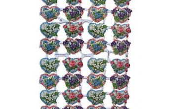 """Karpinys """"Floral Heart Scraps"""""""