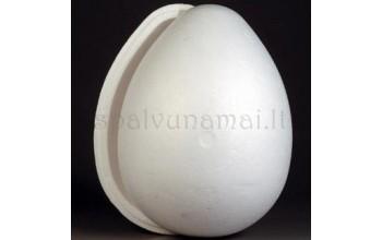 Jūros putos kiaušinis atidaromas (dviejų dalių), 16cm