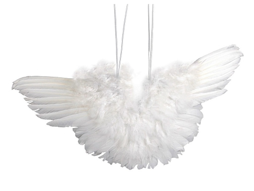 "Dekoracija ""Angeliuko sparnai"", 7cm"