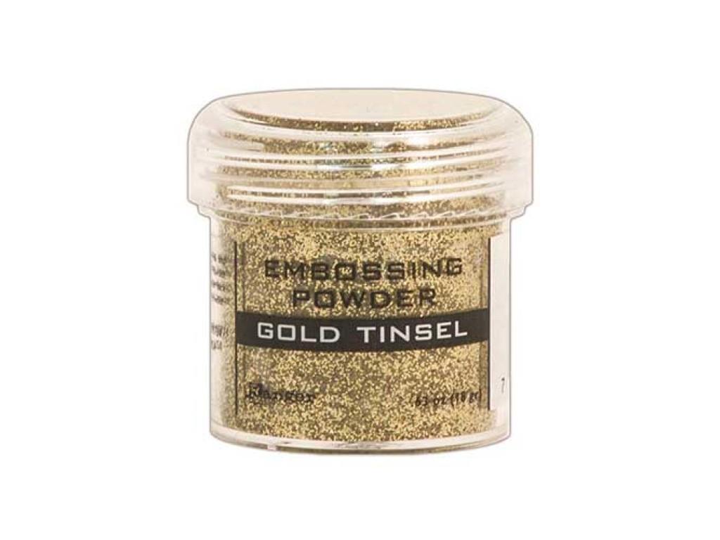 """Reljefiniai milteliai - emalė """"Gold tinsel"""""""