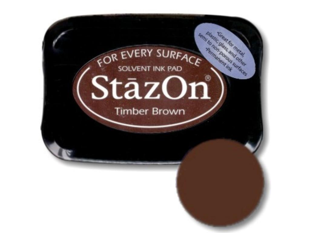 "Rašalas ""StazOn Timber Brown"""