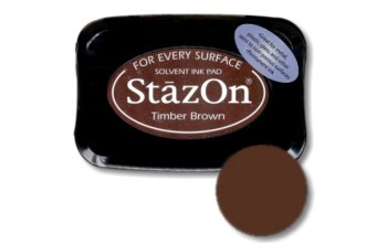 "Rašalas ""StazOn Timber Brown"""