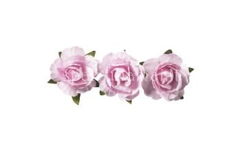 """Popierinės gėlės """"Paper Flower Rose"""", 12vnt."""