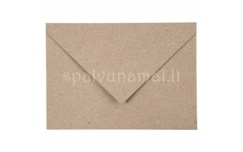 "Vokas ""Kraft Recycled Envelope"", 11,5x16cm, 50vnt."