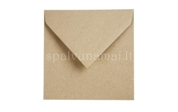 "Vokas ""Kraft Recycled Envelope"", 15x15cm, 1vnt."